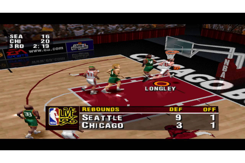 NBA Live 96 PS1 Gameplay HD - YouTube