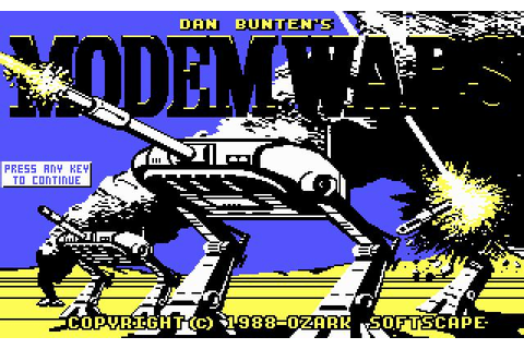 Modem Wars Download (1988 Strategy Game)