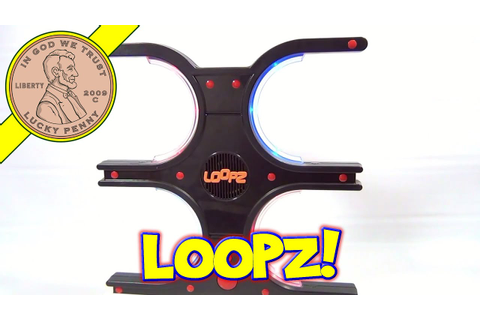Loopz The Memory Game That Gets You Moving, 2009 Mattel ...