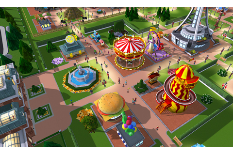 Create beautiful 3D theme parks with RollerCoaster Tycoon ...