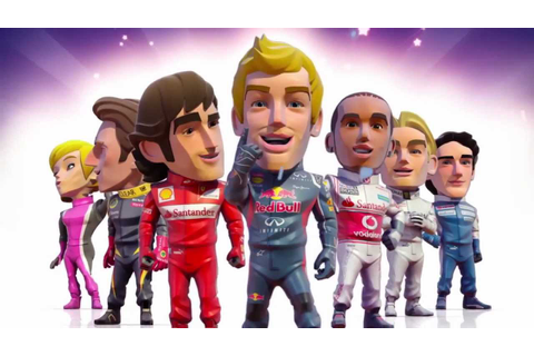 F1 Race Stars - Gameplay Trailer - YouTube