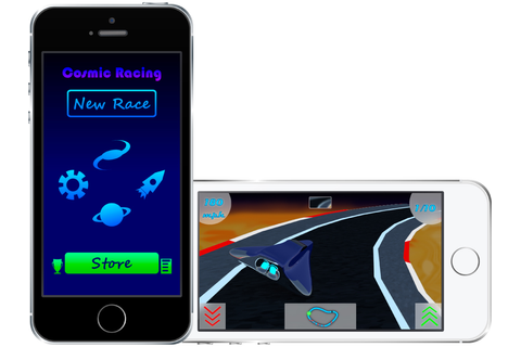 Cosmic Racing iOS, iPad game - Mod DB