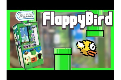 ★Beating The Flappy Bird Arcade Game Again!! ~ ClawTuber ...