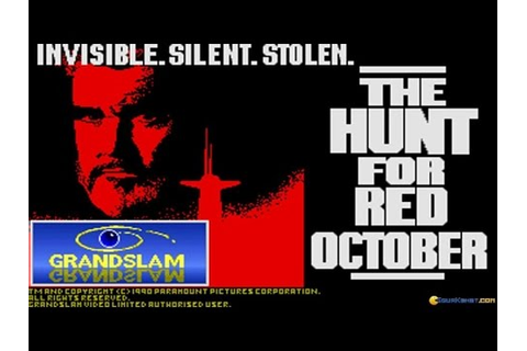 The Hunt for Red October (1990) gameplay (PC Game, 1990 ...
