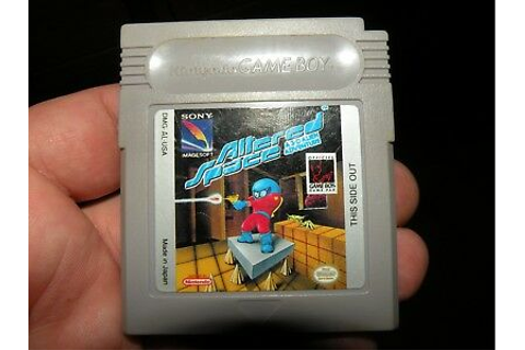 ALTERED SPACE A 3-D ADVENTURE ~ Gameboy ~ EXCELLENT ...