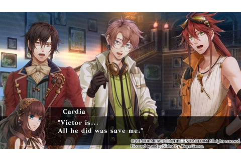 ChCse's blog: Code: Realize ~Guardian of Rebirth~ (Vita)