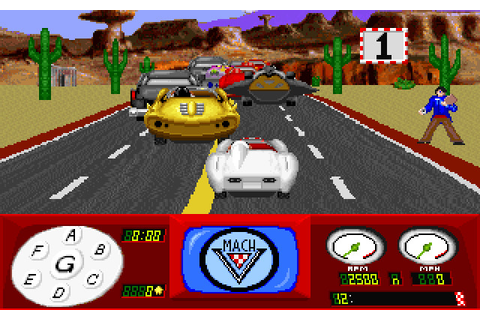 Speed Racer in the Challenge of Racer X (1992 - DOS ...