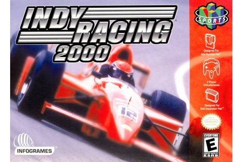 Indy Racing League 2000 Nintendo 64 Game