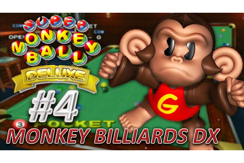 Super Monkey Ball Deluxe - Billiards (Party Game) - YouTube