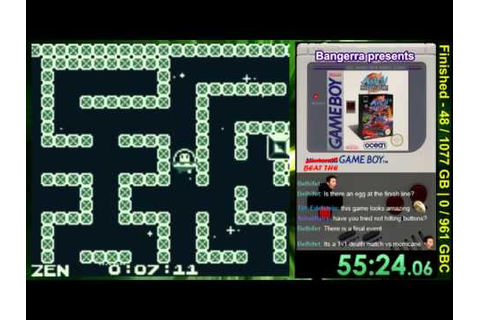 Beat the Game Boy -- Game #49: Alien Olympics 2044 AD ...
