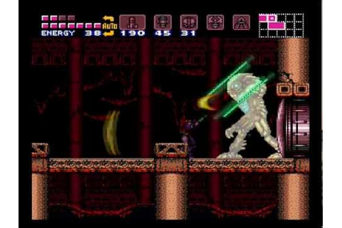 Super Metroid (SNES) - Full Game (100% run with best ...