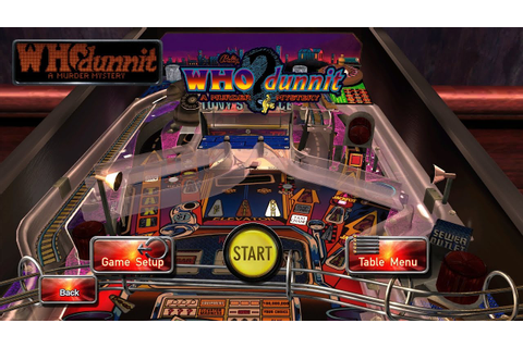 Pinball Arcade - WHO dunnit PC Gameplay - YouTube