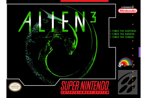 Alien 3 SNES Super Nintendo Game