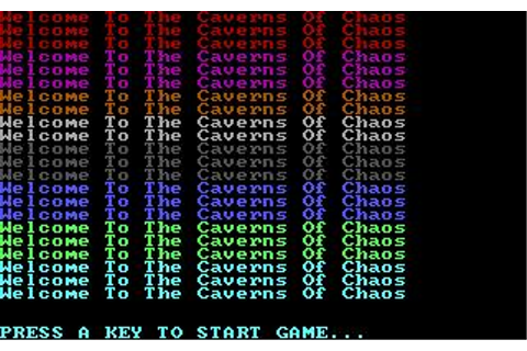Caverns of Chaos Download (1992 Adventure Game)