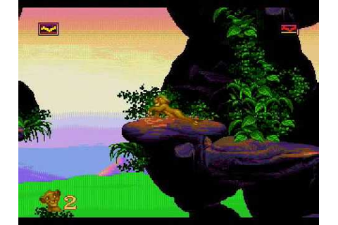 The Lion King:: First Level SEGA - YouTube