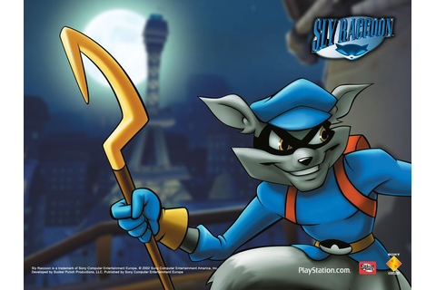 Wallpaper for the first Sly Cooper game, Sly Cooper and ...