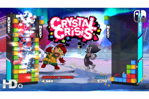 CRYSTAL CRISIS - Nintendo Switch NEW Game Announcement ...