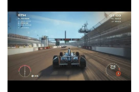 Grid 2 Indianapolis in a Indy car !!! Gameplay / PS3 Xbox ...