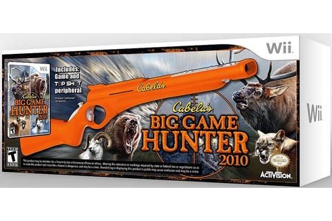 Cabela's Big Game Hunter 2010 Game & Top Shot Gun - Wii - IGN