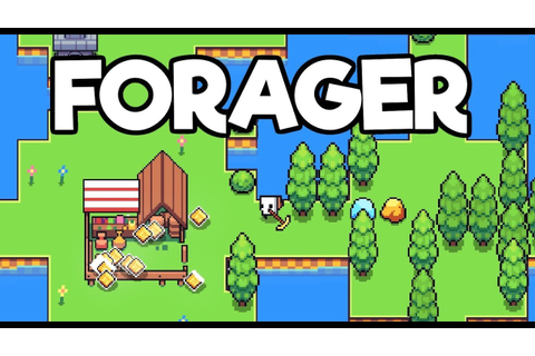 Forager Gameplay Impressions #3 - Going to Market! Making ...