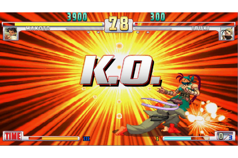 Which fighting games have the best KO flash visuals? | NeoGAF
