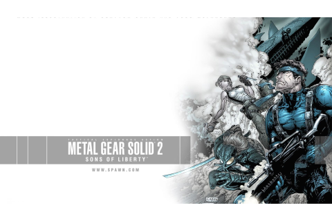 Metal Gear Solid 2 Wallpaper (74+ images)