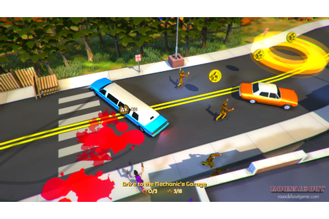Roundabout, the spinning 70s limo game from ex-Harmonix ...