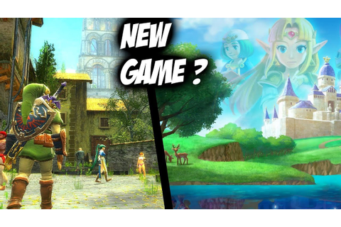 NEW ZELDA GAME? Story, Place And Characters 2019? - YouTube