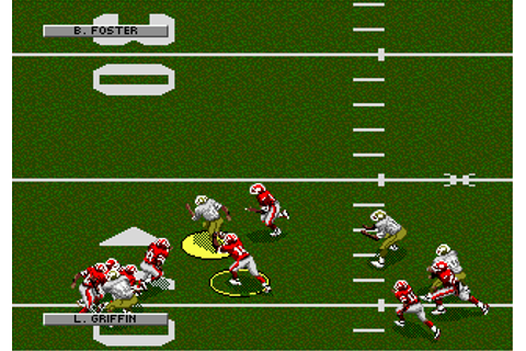 Play NFL Football '94 Starring Joe Montana Sega Genesis ...