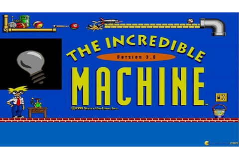 The Incredible Machine 3 gameplay (PC Game, 1995) - YouTube