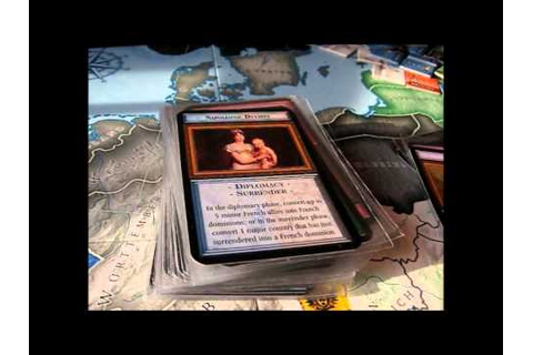 Age of Napoleon by Phalanx Games - YouTube