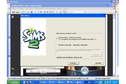 como baixar e instalar the sims 2 pc - YouTube