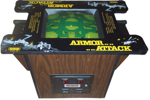 Armor Attack - Videogame by Cinematronics