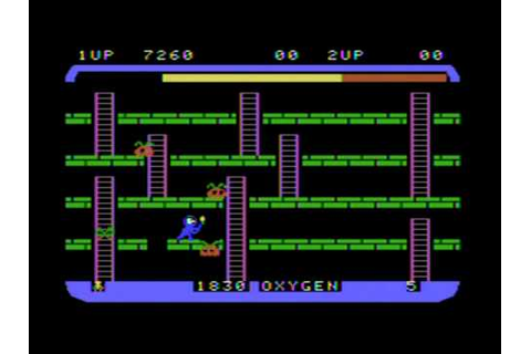 Space Panic Review ColecoVision - YouTube