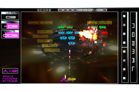 New Space Invaders Extreme Screens: Minter In Package