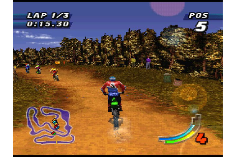 Jeremy McGrath Supercross '98 (1998) by Probe / Atod PS game