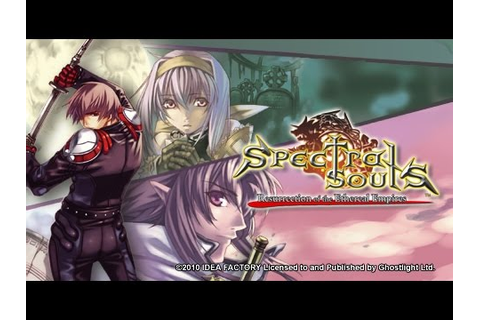 [PSP] Spectral Souls: Resurrection of the Ethereal Empires ...