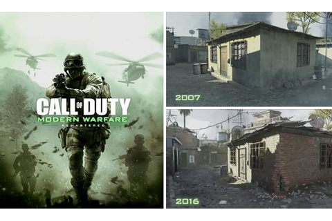 You won't believe how different COD:Modern Warfare looks ...