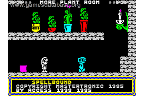 Spellbound Dizzy - Sinclair ZX Spectrum - Games Database