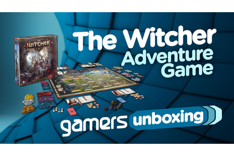 Unboxing - The Witcher Adventure Game - YouTube