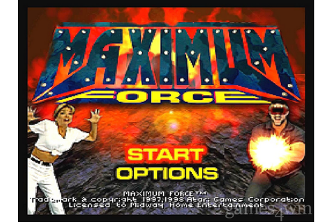 Maximum Force. Download and Play Maximum Force Game ...