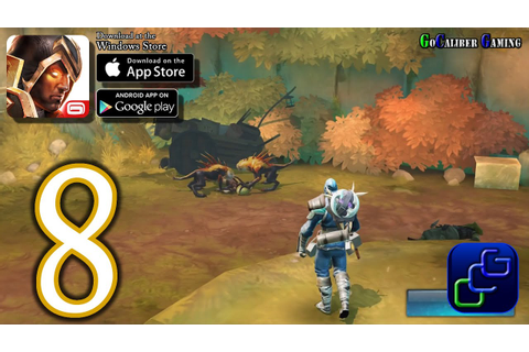 Dungeon Hunter 5 Android iOS Walkthrough - Part 8 - Solo ...