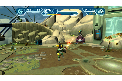 The Ratchet and Clank Trilogy: Playstation Vita Review ...