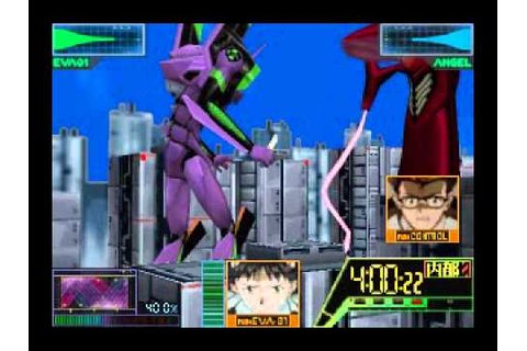 Neon Genesis Evangelion N64 Game part 1 - YouTube
