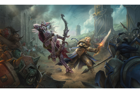 World of Warcraft: Battle for Azeroth Full HD Wallpaper ...