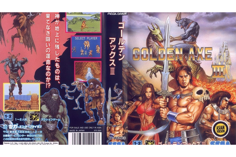 Golden Axe III - Sega Megadrive/Genesis - (Full Game ...