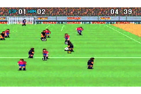 Super Formation Soccer 2: Spain Vs Human - YouTube