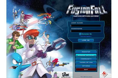 Game: FusionFall [2006-2009] on Behance
