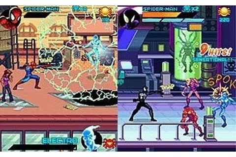 Free Java Games For Mobiles: Spider-Man: Toxic City