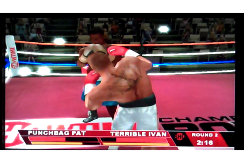 Showtime Championship Boxing Nintendo Wii Gameplay - YouTube